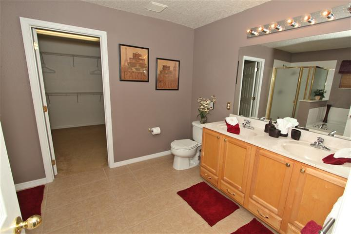 Bathroom and Walk in Closet in King Suite 1