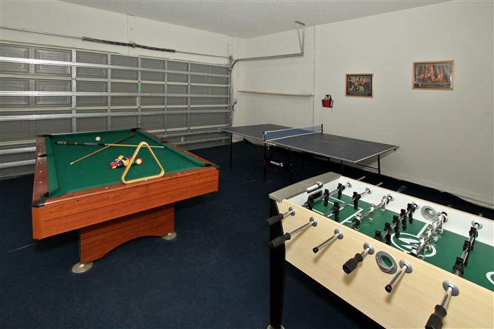 Game Room with AC